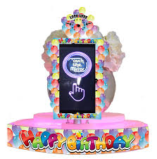 happy birthday sash photobooths happy birthday table selfie sash frame set