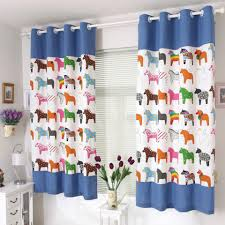 charming and exciting curtains for kids bedroom webbo media