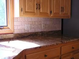 Travertine Backsplash Tiles by Kitchen Tumbled Travertine Tile Kitchen Backsplash Ideas Youtube