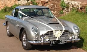 aston martin classic convertible aston martin db5 devon classic wedding cars