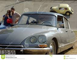 citroen classic classic citroen ds roadster editorial photography image 23789807