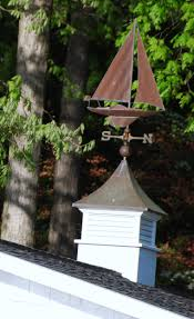 Nautical Weathervane Weathervanes By The Water U2013 Home Is Where The Boat Is