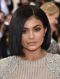 recent tv ads featuring asymmetrical female hairstyles kylie jenner debuts new bob hairstyle at the met gala huffpost