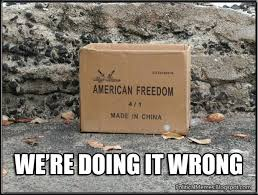 Made In China Meme - political memes american freedom made in china