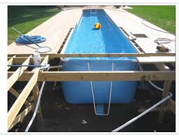 how to build a lap pool 21 the best above ground pools with decks design and ideas
