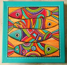 tableau original design les sardines