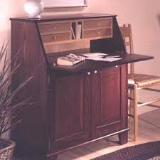 Secretary Desk Plans Woodworking Free by Slant Front Secretary Downloadable Plan Wood Magazine
