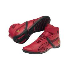 retro ferrari shoes puma scuderia ferrari future cat remix sf mid shoe footgear