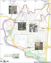 Pacific Northwest Map Half Marathon Course Pacific Northwest Marathon