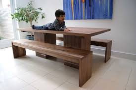 excellent modern kitchen table with bench stunning emmerson