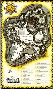 Coronado Springs Resort Map Disney Echo