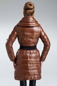2014 new moncler passy women coat winter long brown