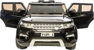 jeep range rover black ride on range rover style 12v electric jeep