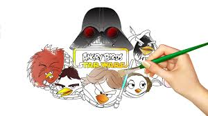 angry birds star wars coloring book youtube