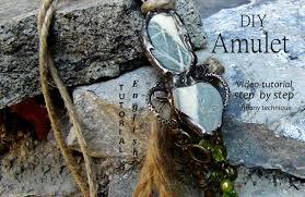 Diy Pronunciation Diy Amulet Talisman Soldering Tutorial Ethnic Tribal
