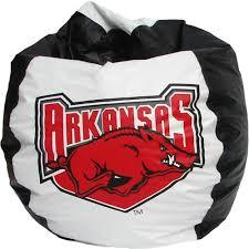 Arkansas Razorback Home Decor by Amazon Com Bean Bag Boys Chair Arkansas Razorbacks Premium