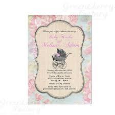 vintage baby shower invitations xyz