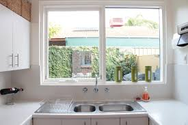 sinks small kitchen windows best kitchen window treatments ideas