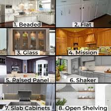 what are the different styles of kitchen cabinets your guide on how to choose kitchen cabinets golden talon