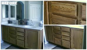 how to refinish bathroom cabinets bathroom pneumatic addict darken cabinets without stripping the