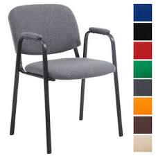 fauteuil cuisine chaise visiteur ken pro tissu accoudoir empilable réunion fauteuil