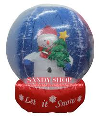 compare prices on christmas inflatables snow globes online