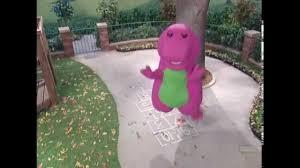 barney playing hopscotch hd 720p youtube