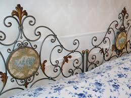 antique iron beds gumtree single bed black wrought iron and