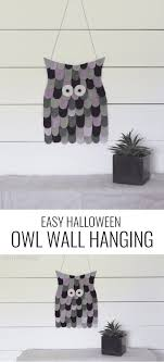 felt owl decoration