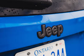 jeep renegade trailhawk blue review 2015 jeep renegade trailhawk canadian auto review