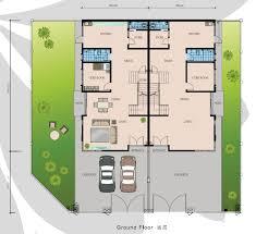 cluster home floor plans bestari heights at nusa bestrai nusajaya luxurious 2 storey