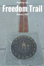 Walking Map Boston by Best 25 Freedom Trail Ideas On Pinterest Boston Tour Boston