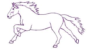 how to draw a horse step by step draw a horse easily for kids