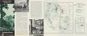 National Forest Map Colorado by Legacy Of Wilderness Exhibit Vida Ellison Gallery 7th Floor