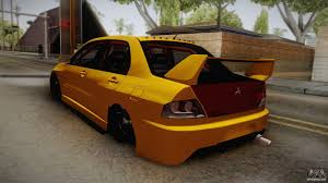mitsubishi lancer evolution 9 mitsubishi lancer evolution ix tuned for gta san andreas