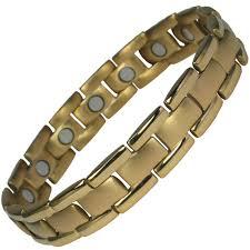 magnetic bracelet gold plated images Mps polaris gold plated titanium magnetic bracelet jpg