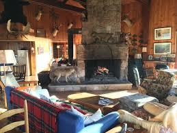 great camp style retreat on private lake long lake adirondacks