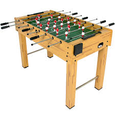 space needed for foosball table bestchoiceproducts rakuten best choice products 48 foosball