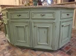 green kitchen island green glazed kitchen cabinets search house