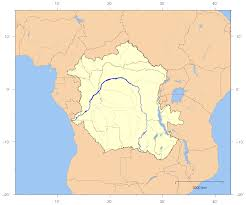 Where Is Africa On The Map by Congo River