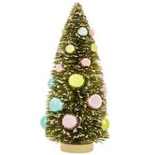 green sisal tree with ornaments large my