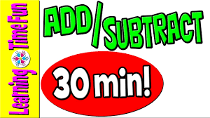 addition and subtraction math for kids addition subtract