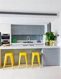 yellow and gray kitchen contemporary kitchen house grey and pale