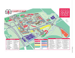 State College Map by Admission To The University Winston Salem State University