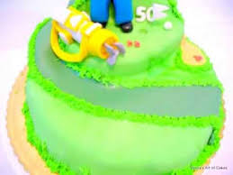 how to make a golf cake cake decorating tutorial youtube