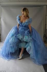 cinderella dress maker reveals wove magic daily mail