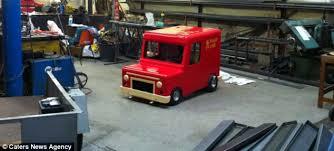 postman pat van bought 250 ebay turned car
