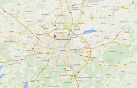 Munich Map Munich Shooting Leaves Several Dead Business Insider
