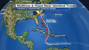 Mexico Hurricane Map by Hurricane Matthew U0027s Twin An Example For Jacksonville