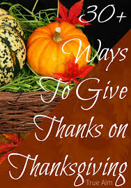 giving thanks on thanksgiving at s library 116 true aim